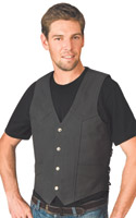 River Road Perforated Leather Vest