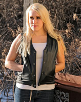 Milwaukee Motorcycle Clothing Co. Classic Women's Ribbed Vest