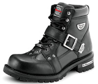 Men's Black Motorcycle Boots | J&P Cycles