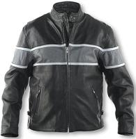 Hot Leathers Men's Universal Rider All Leather Jacket