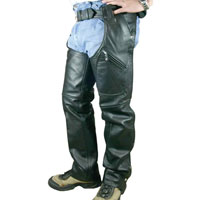 Hot Leather Men's Leather Chaps