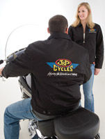 J&P Cycles® Embroidered Logo Ladies Jacket