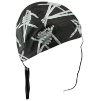 ZAN headgear Road Hog Barbed Wire Flydanna
