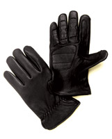 J&P Cycles® Deerskin Driver's Gloves with Cotton Fleece Lining
