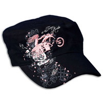 A Time to Ride Embroidered Cadet Cap