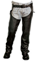 Carroll Leather USA Made Leather Unisex Chaps