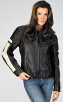 River Road Ladies' Dame Vintage Leather Jacket