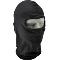 ZAN headgear Solid Black Cotton Balaclava