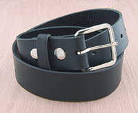 Eagle Leather Black Leather Belt