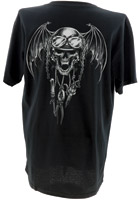 Lethal Threat Gear Chain Skull T-shirt