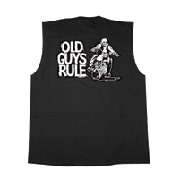 Old Guys Rule Biker Guy T-shirt
