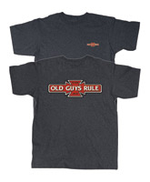 Old Guys Rule Iron Cross T-shirt