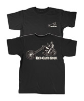 Old Guys Rule Chopper Guy T-shirt