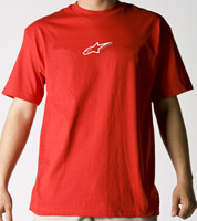 Alpinestars Men's Astar Red T-Shirts