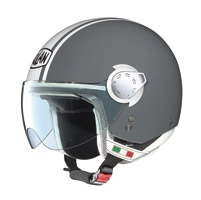 Nolan N20 City Metal Gray/White Jet Helmet