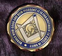 Motordog69 Masonic Challenge Coin