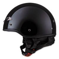 LS2 HH568 Black Half Helmet