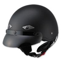 LS2 HH568 Matte Black Half Helmet