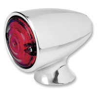 Biltwell Inc. Polished Bullet LED Taillight with Red Lens