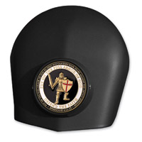 MotorDog69 Black Set Screw Horn Cover Mount With