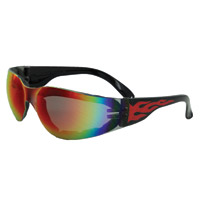 Global Vision Eyewear Rider Flame G-Tech Red Sunglasses