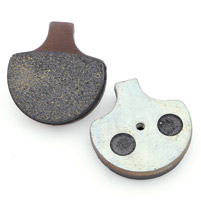 Milwaukee Twins Front or Rear Organic Brake Pads