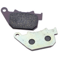Milwaukee Twins Rear Organic Brake Pads