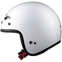 LS2 OF567 Pearl White Open Face Helmet