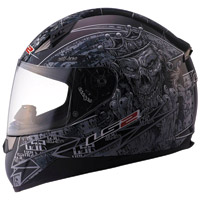 LS2 FF384 Anti-Hero Full Face Helmet