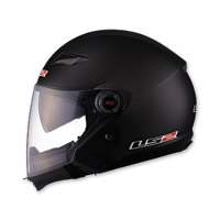 LS2 OF569 Scape Matte Black Open Face Helmet