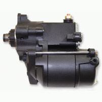 Rivera Primo Black 1.4 kW Starter Motor for Sportster