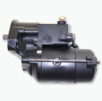 Rivera Primo Black 1.6 kW Starter Motor for Big Twin