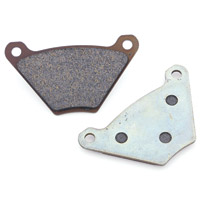 Milwaukee Twins Front/Rear Organic Brake Pads