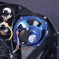 J&M Fairing Speaker Adapter Plate Kit