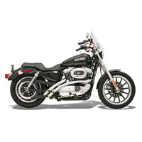 Bassani Chrome Radial Sweepers Exhaust System
