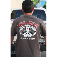 Crank & Stroker Supply Men's Big Jugs Machine Shop T-Shirt