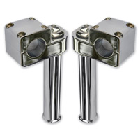 Wild 1 Chrome Pullback Risers for 1-1/4