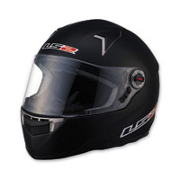 LS2 FF396 CR1 Solid Matte Black Full Face Helmet