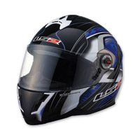 LS2 FF387 Split Blue Full Face Helmet