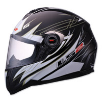 LS2 FF387 Change-up Black Full Face Helmet