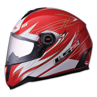 LS2 FF387 Change-up Red Full Face Helmet