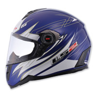 LS2 FF387 Change-up Blue Full Face Helmet