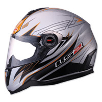LS2 FF387 Change-up Gunmetal Full Face Helmet