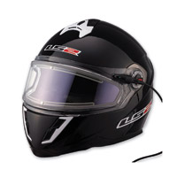 LS2 FF387 Black Electric Full Face Helmet
