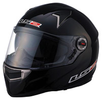 LS2 FF396 FT2 Black Full Face Helmet
