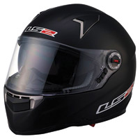 LS2 FF396 FT2 Matte Black Full Face Helmet