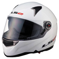 LS2 FF396 FT2 Pearl White Full Face Helmet