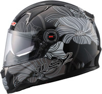 LS2 FF396 FT2 Pheromone Black Full Face Helmet