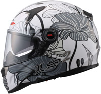 LS2 FF396 FT2 Pheromone White Full Face Helmet