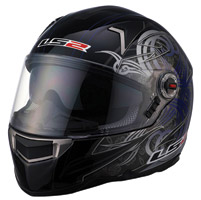 LS2 FF396 FT2 Demon Blue Full Face Helmet